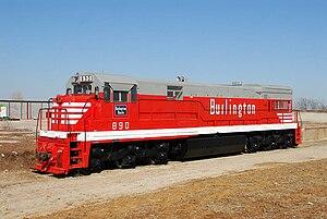 GE U30C - Image: Colorado and Southern 890