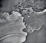 Columbia Glacier, Calving Terminus, Heather Island, September 3, 1974 (GLACIERS 1204).jpg