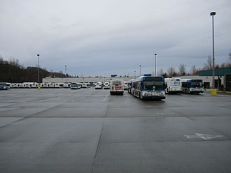 Community Transit - The Merrill Creek Operating Base in Everett, where Community Transit is headquartered