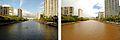 Comparison of the Ala Wai Canal. (5097772853).jpg