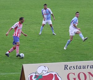 SD Compostela - Compostela playing against Lugo on 22 November 2009.