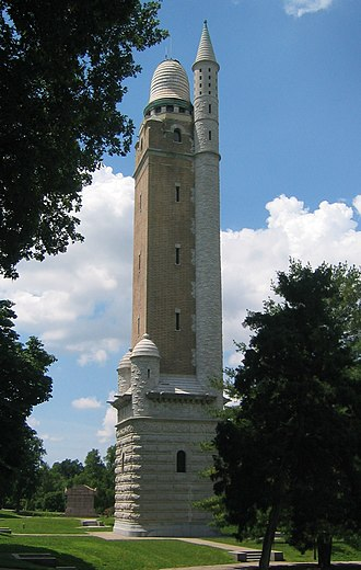 Harvey Ellis - The Compton Hill Water Tower built in 1898 in St. Louis