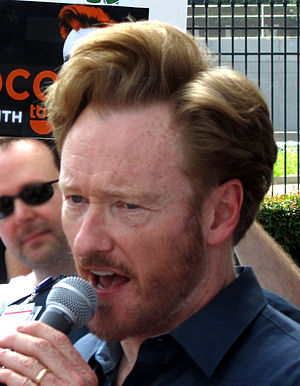 Conan O'Brien - O'Brien in Atlanta, Georgia, June 2010