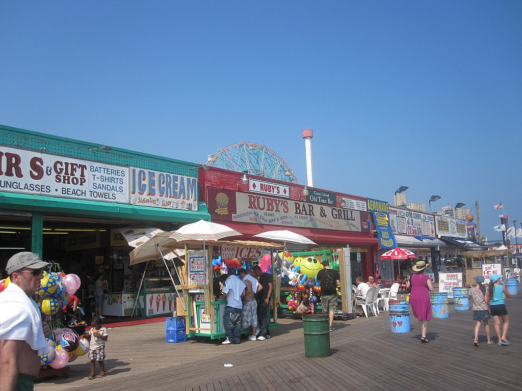 Coney Island snack shops IMG 1772
