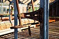Copped Hall kitchen walled garden, greenhouse ventilation mechanism, Essex, England 3.jpg