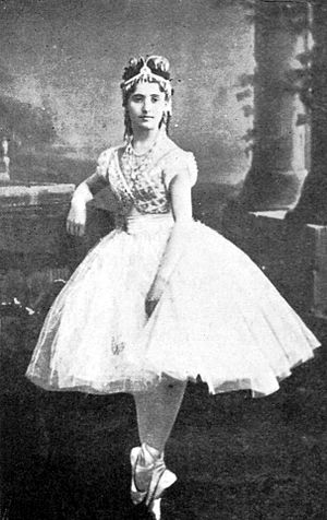 Coppélia - Giuseppina Bozzacchi as Swanhilde in the Saint-Léon/Delibes Coppélia. Paris, 1870