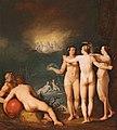 Cornelis Cornelisz. van Haarlem - An allegorical scene featuring the Three Graces Aglaia.jpg