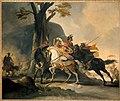 Cornelis Troost - Alexander de Grote in de slag tegen de Perzen bij de Granikos - BR2032 - Rijksmuseum Twenthe.jpg