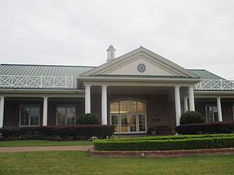 Livingston, Texas - Livingston City Hall at 220 West Church Street