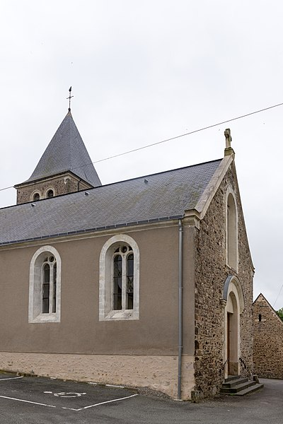 Église de Cosmes (Mayenne)