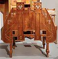 Costantino e faustino zatti, studio in ciliegio, 1898 ca., 06 tavolino pieghevole.jpg