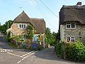 Cottages and narrow lanes, Osmington - geograph.org.uk - 847403.jpg