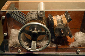 Technological and industrial history of the United States - The cotton gin revolutionized Southern agriculture.