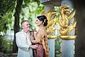 Couple at a pre-wedding ceremony in Thailand.jpg