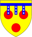 Courtenay OfPowderham Arms.png
