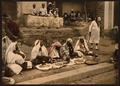 Couscous sellers and an Arab cafe, Tunis, Tunisia-LCCN2001699403.tif