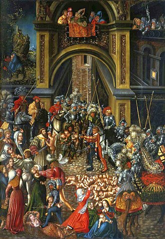 1515 in art - Image: Cranach Massacre of the Innocents