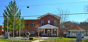 Das Crawford County Courthouse in Steelville