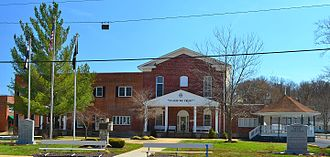 Crawford County, Missouri - Image: Crawford Co courthouse Steeleville MO 20140330 6