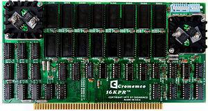 Cromemco Bytesaver - Cromemco 16KPR Memory Card (1977)