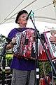 Crucianelli button accordion at Broadstairs Folk Week 2017, Kent, England.jpg
