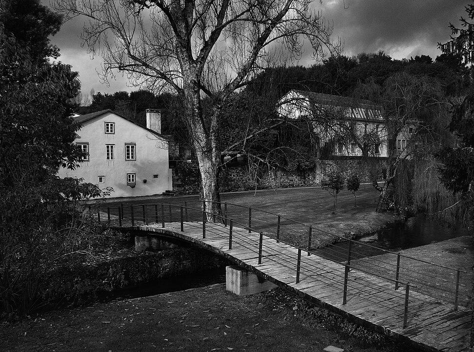 Cruzando o Sarela, Carme de Abaixo, Santiago de Compostela