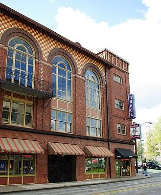 Crystal Ballroom (Portland, Oregon) - Portion of north façade, 2010