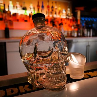 Dan Aykroyd - Bottle of Crystal Head Vodka