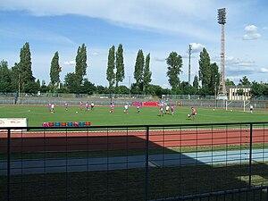 Béke téri Stadion - Image: Csepeli Stadion