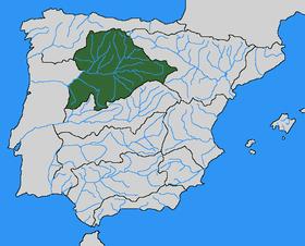 Cuenca Del Duero Mapa.Rio Esla Wikipedia La Enciclopedia Libre