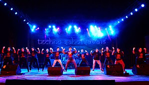 Techno India University - Image: Cultural Programme 1