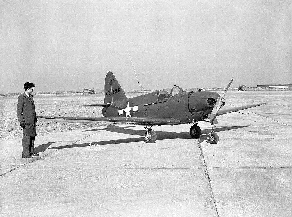 Culver PQ-14B Cadet at Langley 1945
