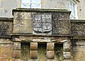 Cuninghame coat of arms, Caprington Castle, Riccarton, Ayrshire.jpg