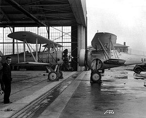 Curtiss BF2C Goshawk - Curtiss BF2C-1 - Model 67A (on the right)