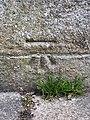 Cut Mark at Todmorden, Bunley Road Wall.jpg