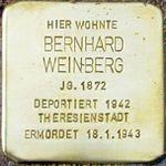 Cuxhaven Stolperstein Bernhard Weinberg.jpg