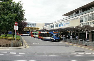 Cwmbran bus station A bus terminus and interchange in Cwmbran, Wales
