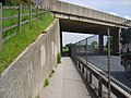 Cycle Track, Flyover and A64 - geograph.org.uk - 821515.jpg