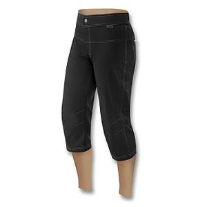 Loose-fit, black, bike capris / cycling knicke...