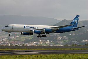 Cygnus Air McDonnell Douglas DC-8-62(F).jpg