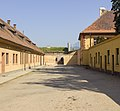 Czech-2013-Theresienstadt-Entrance pathway to arch.jpg