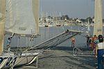Dériveurs 18 pieds australiens au Salon Nautique International à Flot de La Rochelle 1987 (17).jpg