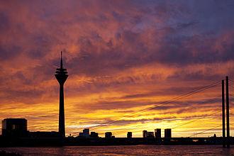 Düsseldorf - Düsseldorf skyline