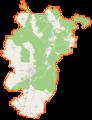 Dębno (gmina w województwie zachodniopomorskim) location map.png
