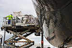 D-ALCK Lufthansa Cargo McDonnell Douglas MD-11F weighed down for departing to Chicago.jpg