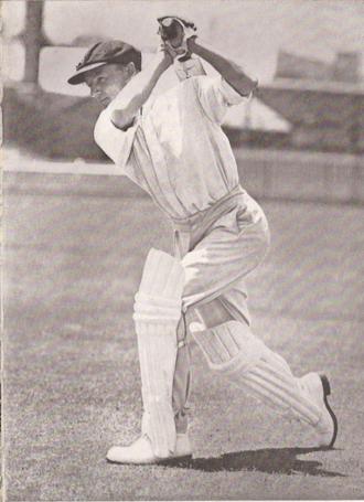 Indian cricket team in Australia in 1947–48 - Image: D.G.Bradman