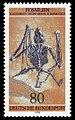 DBP 1978 974 Fossilien, Fledermaus.jpg