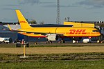 DHL, G-DHKM, Boeing 757-223 PCF (43426205285).jpg