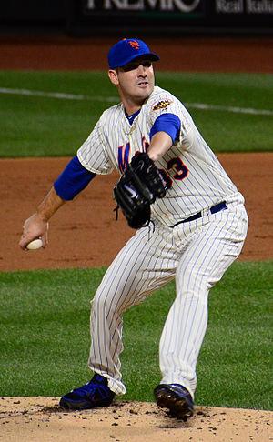 Matt Harvey - Harvey with the Mets in 2012