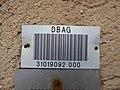 Dachau Bahnhof — Barcode DBAG.JPG